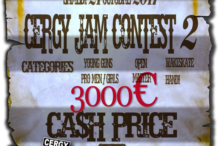 Le Cergy Jam Contest revient le 21 octobre avec un cash price de 3000€ !