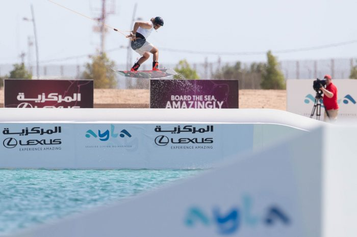 Louis Mistaudy prend la 3eme place de l'IWWF WorldCup, en Jordanie !