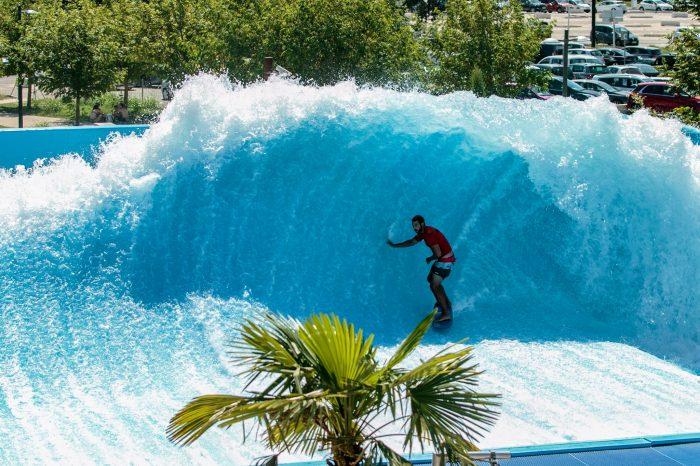 WAVE LAKE, le wakepark du parc aquatique WAVE ISLAND !!!!