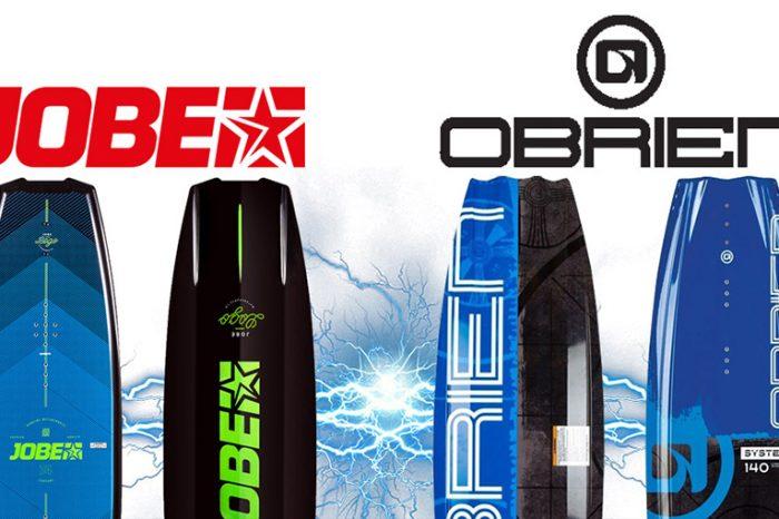 JOBE Logo 138 VS O'BRIEN System 140: Quel wakeboard choisir ? NOOTICA.FR nous répond !