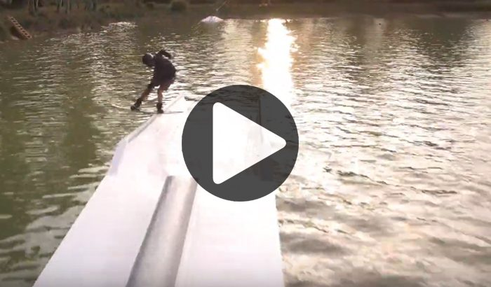 """""""Hello Champagne Wake Park"""" / Wes Gumpel"""