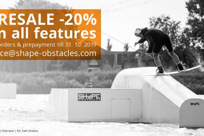 SHAPE OBSTACLES offre -20% sur tous les modules 2020 !