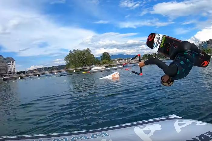 Daniel Grant met le feu aux lacs Suisses !