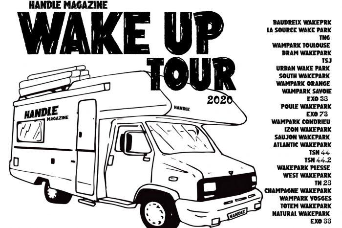 """HANDLE """"WAKE UP"""" TOUR, les dates de la tournée !"""