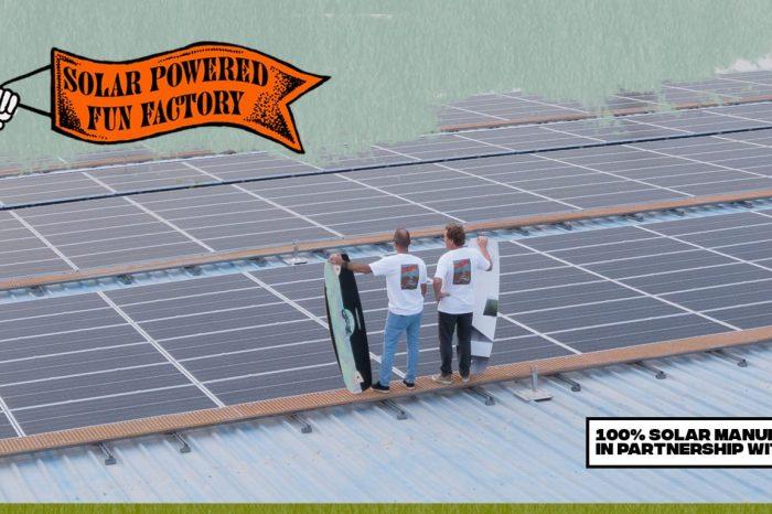Liquid Force annonce un production 100% solaire !