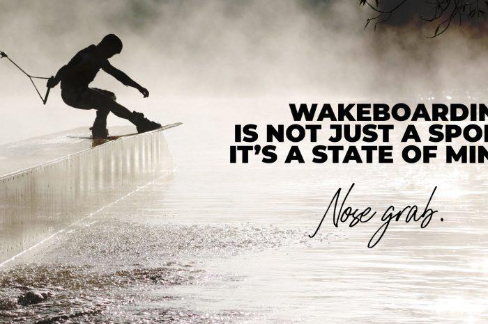 """Welcome """"Nose Grab"""", nouvelle marque dans l'univers du wake !"""